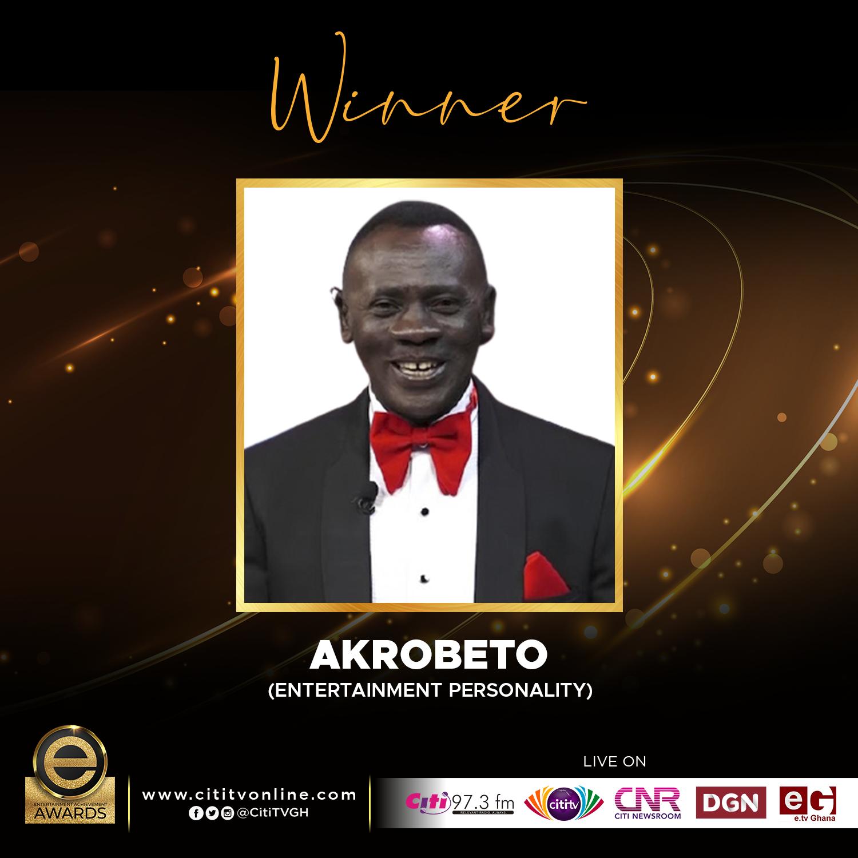 Winner – AKROBETO