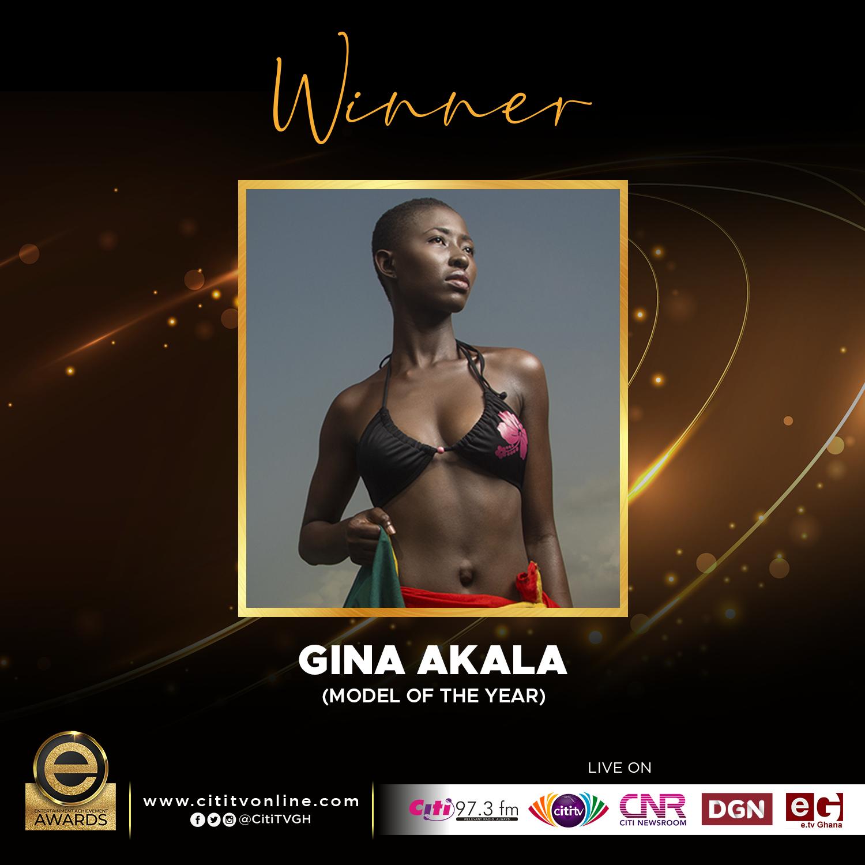 Winner – GINA AKALA