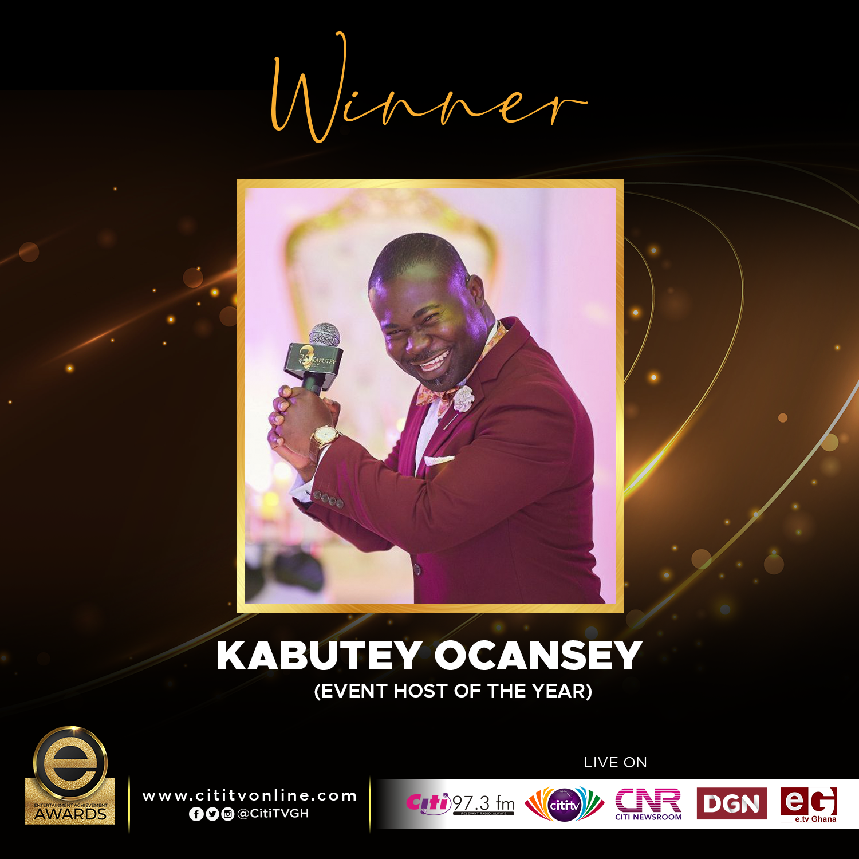 Winner – KABUTEY OCANSEY