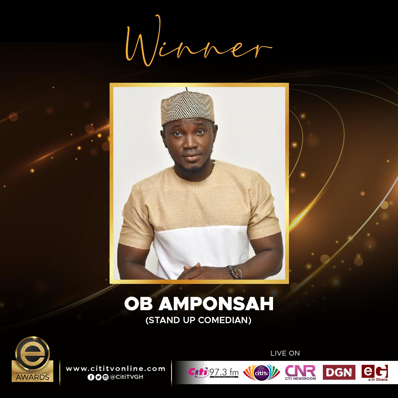 Winner – OB AMPONSAH