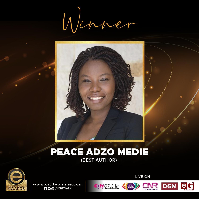 Winner – PEACE ADZO MEDIE